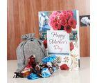 Giftacrossindia Precious Combo Of Chocolate And Card For Mummy (GAICORMOT2017099)