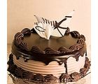 Giftacrossindia Dark Chocolate Delight Cake (GAICAK0015)