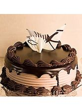 Giftacrossindia Dark Chocolate Delight Cake (GAICAK0015)