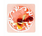 Giftacrossindia Delicious One Kg Strawberry Flavor Fresh Cream Cake (GAIMPHD0091)