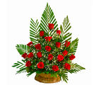 Giftacrossindia Basket of 20 Red Roses (GAIMPHD0541)