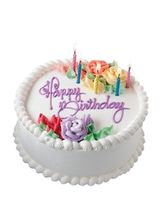 Giftacrossindia Birthday Vanilla Cake (GAICAK0018)