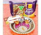 Giftacrossindia Elegant Rakhi Combo