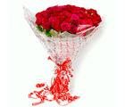 Giftacrossindia Fresh Long Stemmed 50 Red Roses Bouquet (GAIMPHD0055)