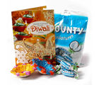 Giftacrossindia Pack Of Bounty Minature Chocolates With Earthen Diyas