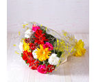 Giftacrossindia Bouquet of Fifteen Assorted Flowers (GAIMPHD0028)