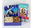 Giftacrossindia Cashew And Walnut Combo With Earthen Diya And Card
