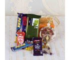 Giftacrossindia Shubh Labh Wall Hanging With Assorted Chocolates