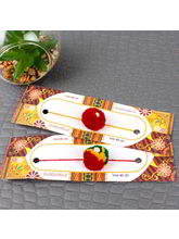 Giftacrossindia Set Of Two Gonda Rakhis