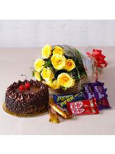 Giftacrossindia Birthday Chocolaty Treat (GAIMPHD0195)