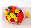 Giftacrossindia Mix Seasonal Flowers Bunch (GAIMPHD0083)