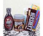 Giftacrossindia Rakhi With Hersheys Gift Combo