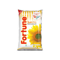 Fortune Sunflower Oil, pouch, 1 lt