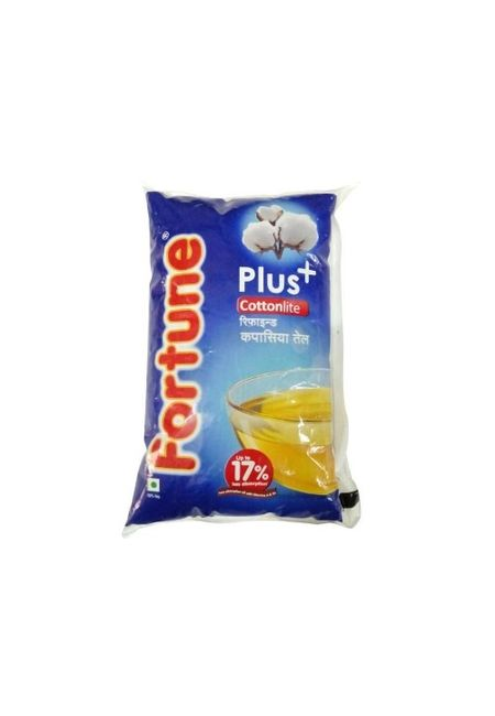 Fortune Plus Cottonlite Oil, jar, 5 lt