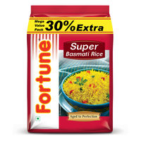 Fortune Super Basmati Rice (30% Extra), 1 kg
