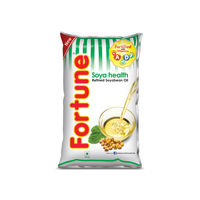 Fortune Soya Health Oil, 1 lt, pouch