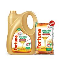 Fortune Rice Bran Health Oil, jar, 5 lt