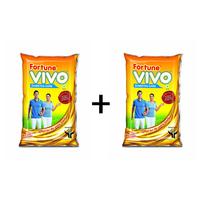 Combo of 2 VIVO Diabetes Care Oil 1 lt pouch