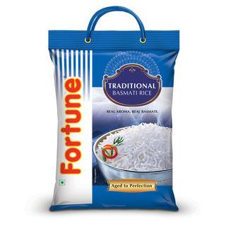 Fortune Traditional Basmati Full Grain Rice, 5 kg