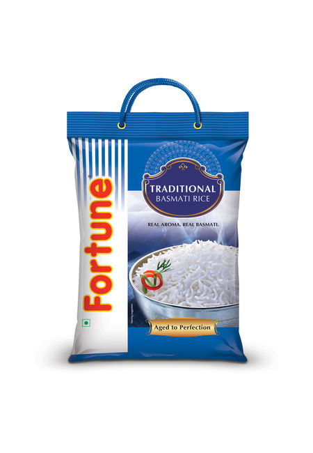 Fortune Traditional Basmati Full Grain Rice, 5 kg