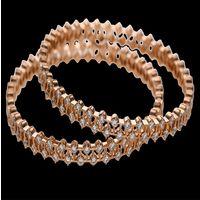 Diamond Bangles, 18k  50.15gms, e/f-vvs1  8.35cts