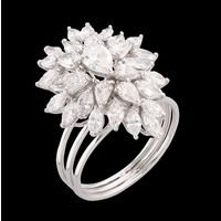 Diamond Ring, 2.46cts, 18k 5.27gms, e/f-vvs