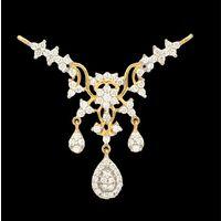 Diamond Tanmaniya, 1.85cts, 18k 5.60gms, e/f-vvs