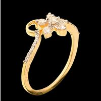 Diamond Ring, 0.28cts, 18k 1.99gms, e/f-vvs