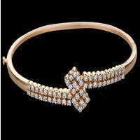 Diamond Bracelet, 18k  12.18gms, e/f-vvs1  1.11cts