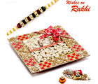 Aapno Rajasthan Decorative Box With Rakhi & Dryfruits