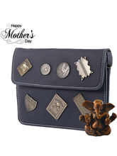 Tamirha Navy Blue Stylish Unique Look Sling Bag Fo...