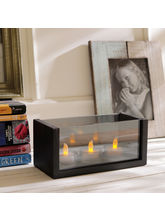 Aapno Rajasthan Rectangular Glass Walled Tealight Holder (TLT1534)