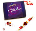 Aapno Rajasthan Cadburys Celebration Pack With Charming Rakhi