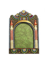 Aapno Rajasthan Beautiful Multicolor Wooden Photo Frame (WUDCLY12118)
