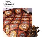 Aapno Rajasthan Multicolor Polyester King Size Bedsheet with Deep Shade Contemporary Print for Mother's Day