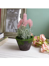 Tayhaa Beautiful Charming Long Sticks 18.5 CM Artificial Plant (APL1642), pink and green