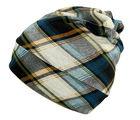 Tamirha Multicolor Checkered Multipurpose 9 in 1 Bandana Cap (CAP1702)