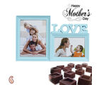 Aapno Rajasthan Pretty Photoframe And Chocolate Hamper For Mother's Day