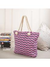 Tamirha Stylish Chevron Print Hand Bag For Mother'...