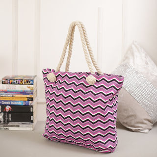 Tamirha Stylish Chevron Print Hand Bag For Mother'...