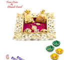 Aapno Rajasthan Square Shape Dry Fruit Tray