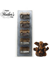 Aapno Rajasthan Five Tier Wooden Photo Frame With ...