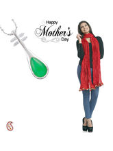 Aapno Rajasthan Combo Of Stunning Pendant And Ddupatta For Mother's Day