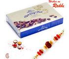 Aapno Rajasthan Cadbury Celebrations Rich Dryfruit Choclate Box Rakhi Hampers With 1 Bhaiya Rakhi