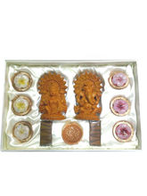 Aapno Rajasthan Spirtual Pooja Essential Pack With Idols (GS28)