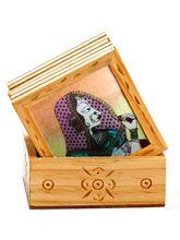 Aapno Rajasthan Royal Princess Gemstone Dust Coaster Set (DGST15401)
