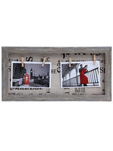 Aapno Rajasthan Grey Wooden Designer Collage Photoframe