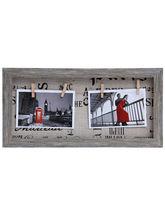 Aapno Rajasthan Grey Wooden Designer Collage Photoframe