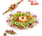 Aapno Rajasthan Delicious Dried Fruit & Rakhi Hamper