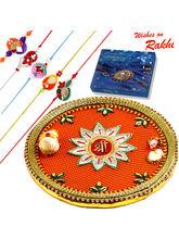 Aapno Rajasthan Beautiful Shree Pooja Thali & Choc...